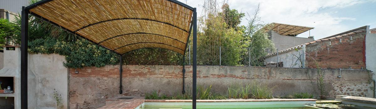 [9 i 10 DE NOVEMBRE 2019] Taller de construcció de panells de canya tradicionals a Can Ricart, Barcelona